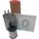 Kit de filtres adaptable